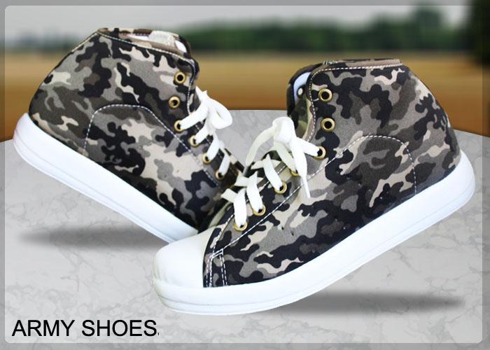 کفش ارتشی دخترانه army