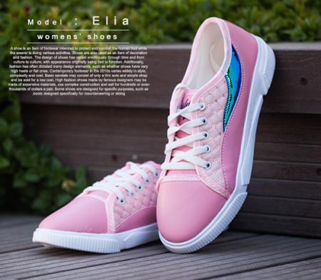 کفش دخترانه مدل  Elia(صورتی)