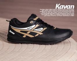 کفش مردانه Asics مدل  Kavan (طلایی)