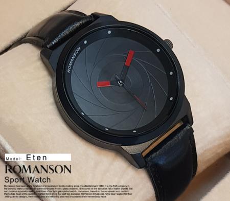 ساعت مچی Romanson مدل Eten ( مشکی)