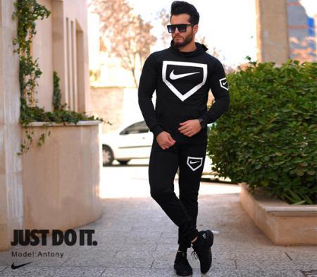 ست سویشرت و شلوار مردانه Nike مدل Antony(مشکی)