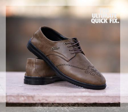 کفش مردانه مجلسی janet (زیتونی)