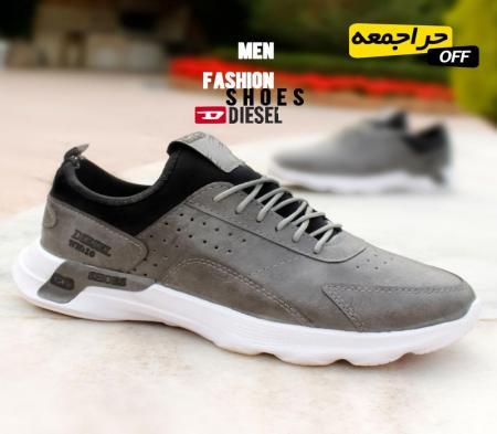 کفش مردانه Diselمدل WN(طوسی)