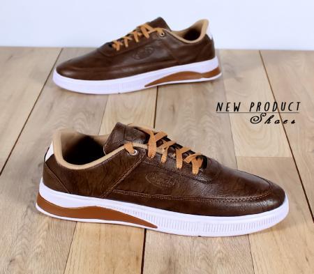 کفش مردانه مدل Depay (قهوه ای تیره)